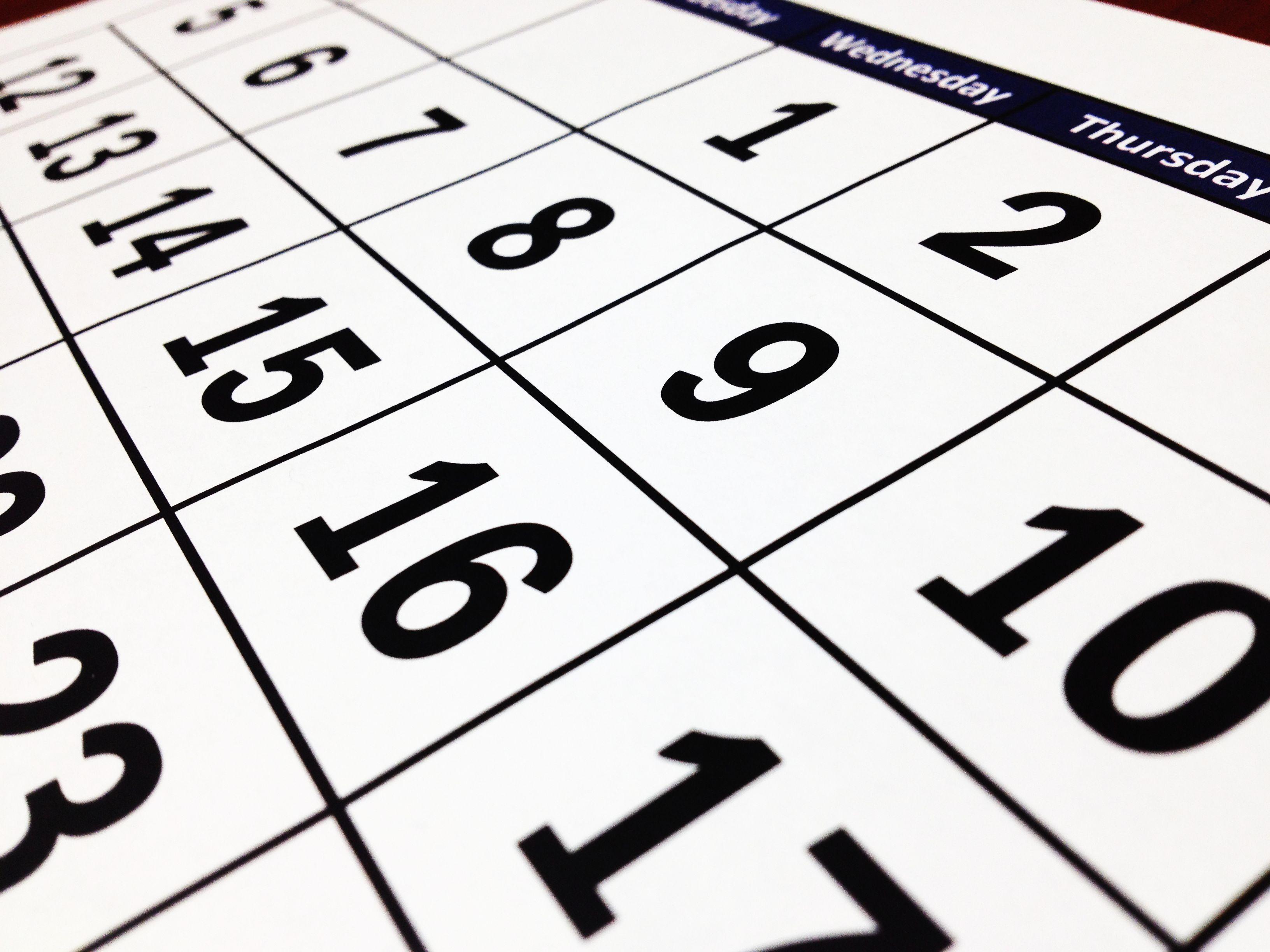 Calendari Lezioni 27 aprile-31 maggio 2020
